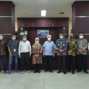 Kunjungan Direktur Utama PT Trans Indonesia Superkoridor Ke Kantor Bupati Lebak